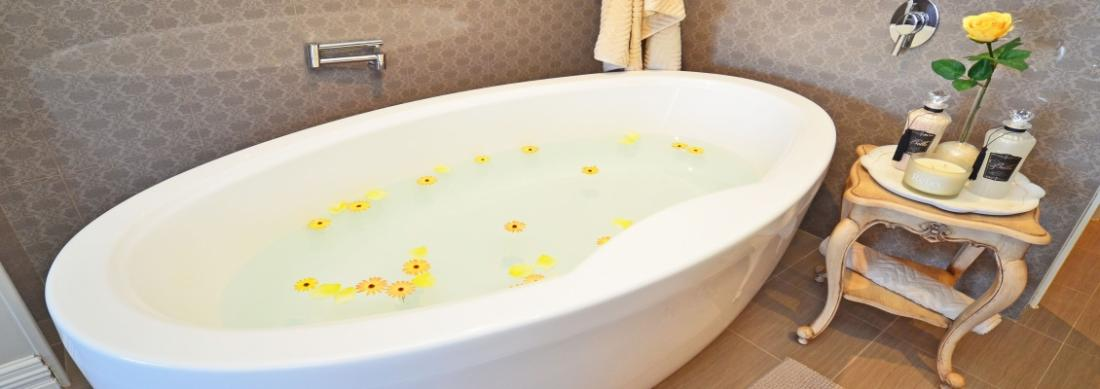 A RESIZED PHOTO OF PETALS IN BATH